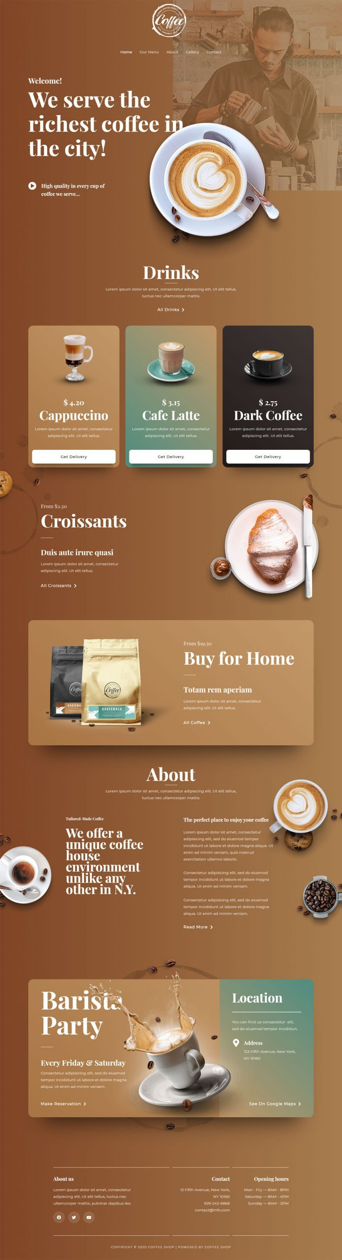 cheap web design by using pre-made templates
